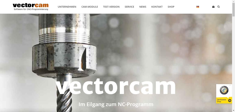 WordPress Multisite Übersicht - Beispiel Vectorcam